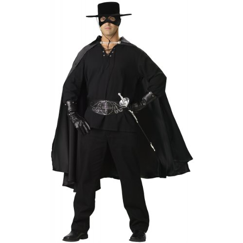 InCharacter Costumes Bandido Adult Set, Black Costume, Medium