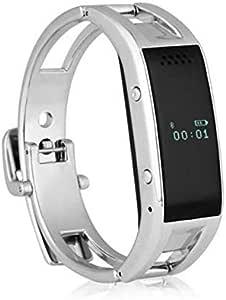 Sliver Smart Bracelet Wristband Smartband D8 Pulsera Inteligente Bluetooth Wrist watch Call Reminder for iOS Android