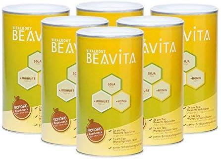 BEAVITA Vitalkost sabor chocolate - 6x 500g 54 porciones - 211 ...
