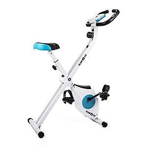 Klarfit Azura Heimtrainer Fahrradtrainer mit Rückenlehne (Comfort Version)...