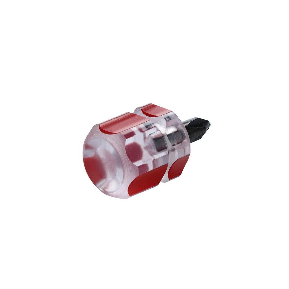 Xindda 2pcs/Set Mini Short Stubby Phillips Slotted Screwdriver Tools Kit Set Useful by Xindda (Image #5)