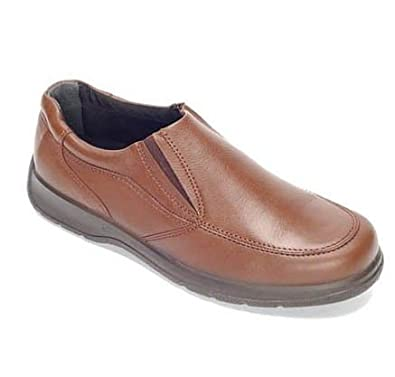 Mens Extra Wide 4e Fitting Deep Toe Box Slip On Casual Shoes (7 Brown) Amazon.co.uk Shoes u0026 Bags  sc 1 st  Amazon UK & Mens Extra Wide 4e Fitting Deep Toe Box Slip On Casual Shoes (7 ... Aboutintivar.Com