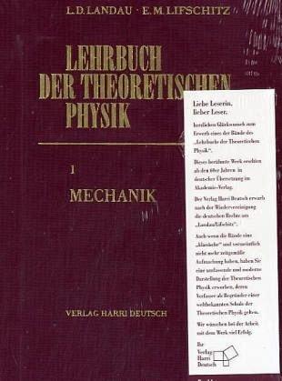 Lehrbuch der theoretischen Physik - Satz