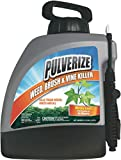 Pulverize Weed, Brush & Vine Killer Spray - Fast Acting, Non-Staining Weed and Crabgrass Killer - 1.33 Gallon Weed Sprayer