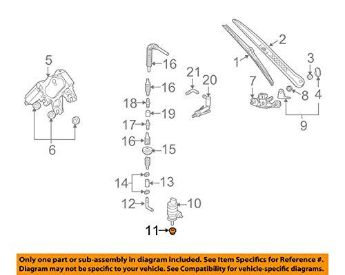 Porsche 955-628-712-00 - Gasket, Washer Pump
