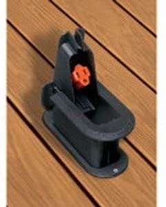 Non-Metallic Black Deck Grommet