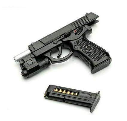 Pistol revolver Dark Bluish Gray x 10 gun NEW LEGO Weapon grey western