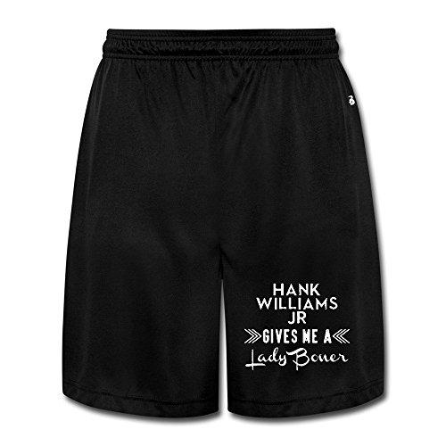 Hank Williams Jr Easeful Adult Short Pants Pants - Report Gold Junior