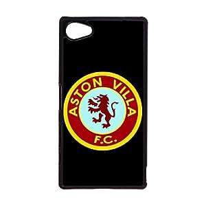 Customized Design Premier League Football Team Phone Case for Sony Xperia Z5 Compact Aston Villa FC Logo Cool Style Mobile Phone Case