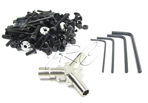 HoBao 1/8 Hyper 7 SS - SCREWS & TOOLS (nuts bolts wrench allen tool OFNA