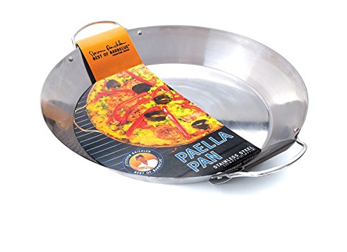 Steven Raichlen Best of Barbecue Stainless Paella Pan SR8815 (Pan Outdoor Paella)