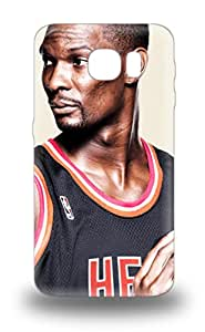 Defender 3D PC Case For Galaxy S6 NBA Miami Heat Chris Bosh #1 Pattern ( Custom Picture iPhone 6, iPhone 6 PLUS, iPhone 5, iPhone 5S, iPhone 5C, iPhone 4, iPhone 4S,Galaxy S6,Galaxy S5,Galaxy S4,Galaxy S3,Note 3,iPad Mini-Mini 2,iPad Air )