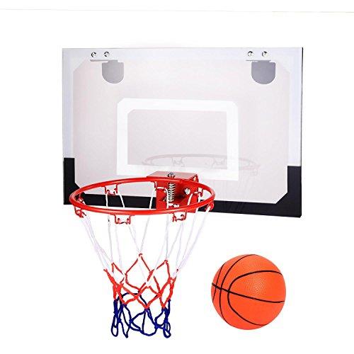 Leoneva indoor wall mount or over the door hanging mini - Indoor basketball hoop for bedroom ...