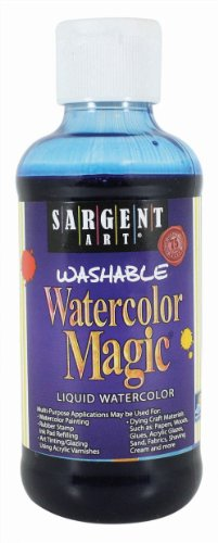 Sargent Art 22-6050 8-Ounce Watercolor Magic, Blue ()