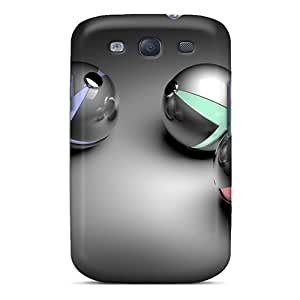 Tpu Case Cover Compatible For Galaxy S3/ Hot Case/ Spheres 94