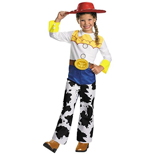 Toy Story Jessie Classic Girls Child Kids Youth Disney Costume + Coolie (S-4/6X)