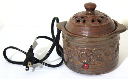 Aromatherapy Accessory Electric Simmering Pot with AC Power Cord (EARTH Color) (Pot Potpourri compare prices)