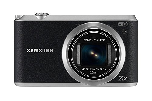 Samsung EC-WB350FBPBUS 16.3Digital Camera with 21x Optical Image Stabilized Zoom with 3-Inch LCD (Black) (Pocket Camera Samsung)