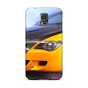 Hot Yellow Ac Schnitzer Tension Concept Bmw Front Section First Grade Tpu Phone Case For Galaxy S5 Case Cover by Maris's Diary