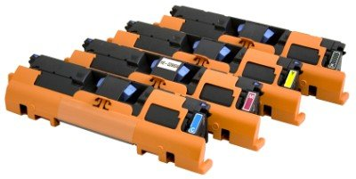 Ecotrend Compatible Toner Cartridge Replacement for HP Q3963A ( Black,Cyan,Magenta,Yellow )