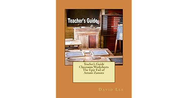 Amazon.com: Teachers Guide Classroom Worksheets The Epic ...