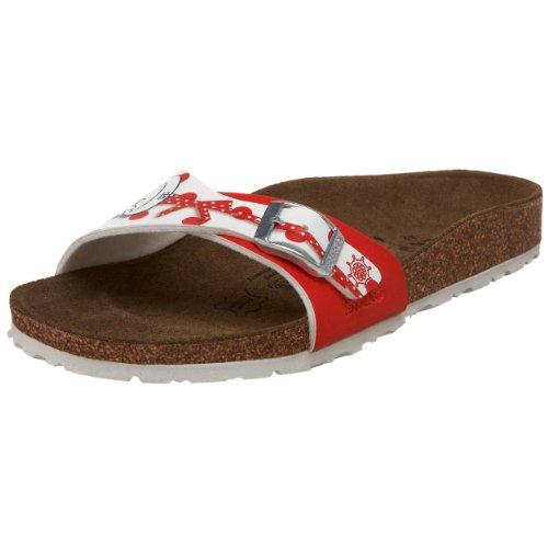 Birki's Toddler/Little Kid Menorca Cork Sandal,Mickey & Minnie Ahoi Red Points,29 N EU (US Little Kid 11-11.5 N)