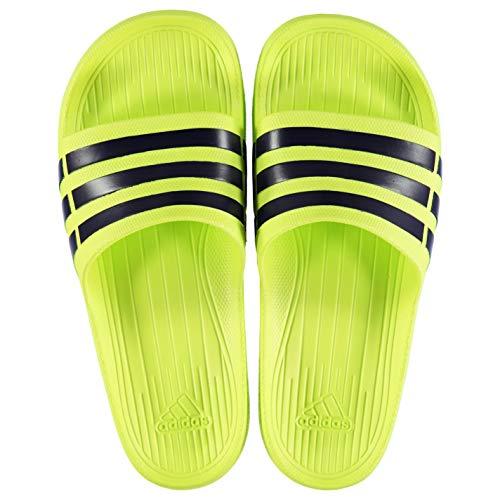 Unisexe Jaune Adulte Duramo Sabots Slide Noir Adidas 86ftqw