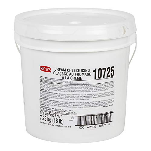 Rich's Buttercream Style Cream Cheese Icing, 16 lb Pail