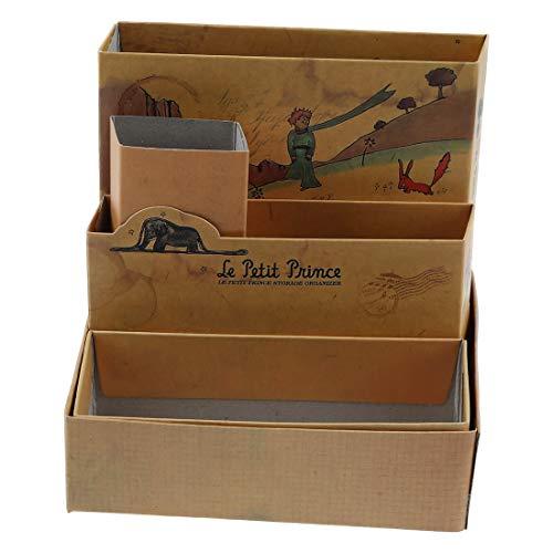 (Desk Organizer - Nocm Diy Paper Stationery Makeup Cosmetic Desk Organizer Board Fairy Tale Storage Box - Vinyl Glass Resin Hardware System Vanity Medium Blue Navy Dividers Dragon First Rolli)