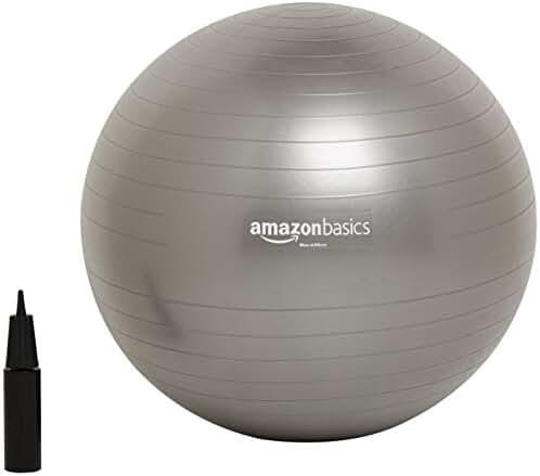 AmazonBasics Balance Ball with Hand Pump