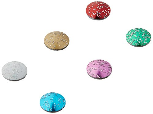 Imaginisce i-rock Hot Rocks Adhesive Gems, 2.5mm to 4mm, Compact Glitter, 800-Pack from Imaginisce