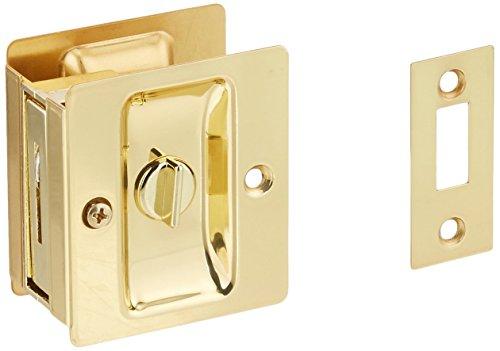 """Kwikset Corporation 3333CP 1-3/8"""" Privacy Pocket Door Latch from Kwikset"""