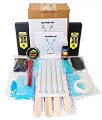 Hand Poke and Stick Tattoo Kit - Clean &...