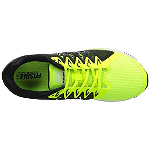 9b9de33ab54 ... italy outlet nike mens zoom vomero 9 volt white black running shoe 7 men  us aa917 ...