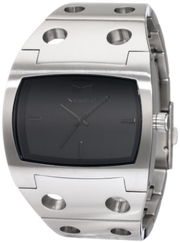 Vestal Men's DES055 Destroyer Classic Brushed Silver Watch