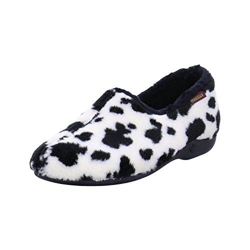 Weiß Hausschuhe Day Cow Schuhdiscount Damen wIqvpIct