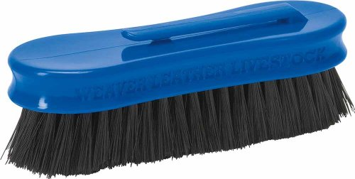 Weaver Leather Small Pig Face Brush, Blue (Pig Face)