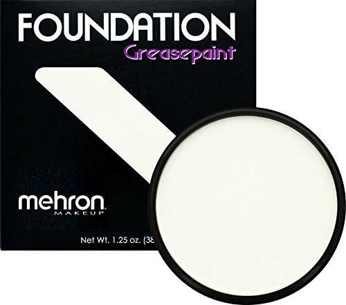 Mehron Makeup Foundation Greasepaint (1.25 oz) (WHITE)