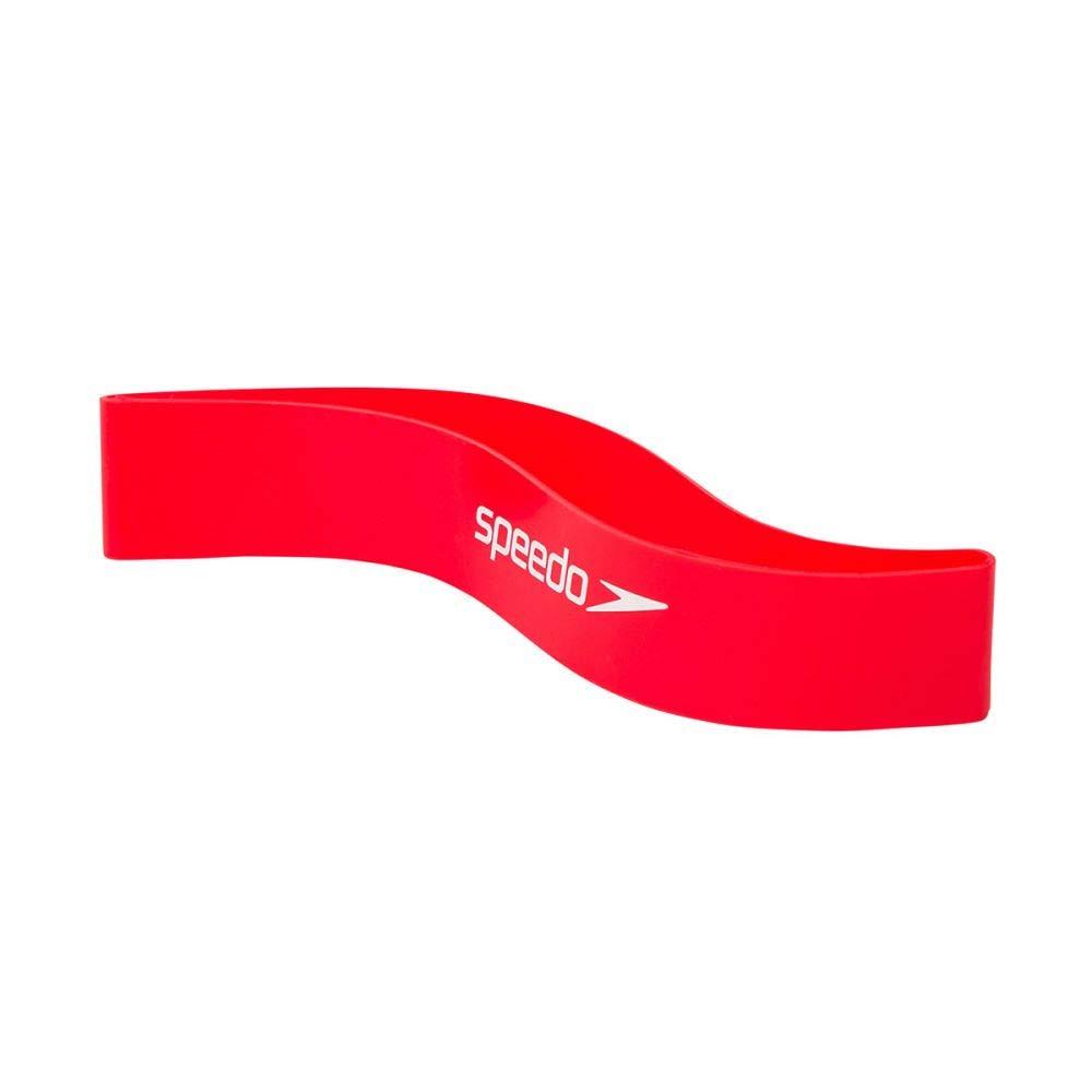 Speedo Lava Red//Bianco Fascia da Allenamento per Caviglia Unisex-Adult One Size