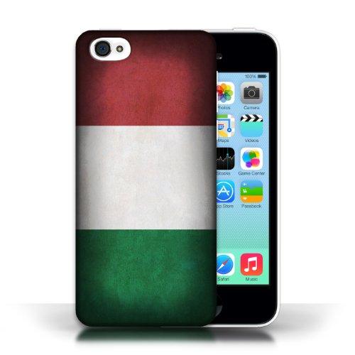 Etui / Coque pour Apple iPhone 5C / Italie/italien conception / Collection de Drapeau