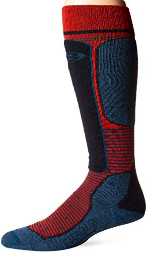 Prussian Chili Red De Ski Light Midnight Ski Icebreaker Navy Blue Homme Chaussettes 0xqU7Y8xFw