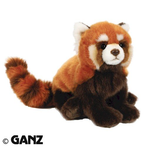 Webkinz Endangered Red Panda with Trading Cards