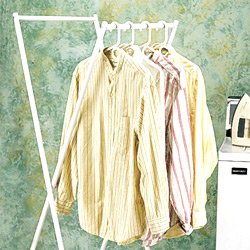 Storage Dynamics Folding Clothes Rack