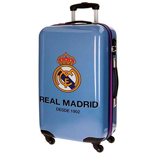 Real Madrid One Color Club Kindergepäck, 67 cm, 53 liters, Violett (Morado)