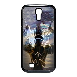Samsung Galaxy S4 9500 Phone Case Black Of Sword Art Online SAO Kirito & Asuna T6MD