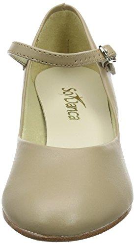 Calzado Para Mujer Sodanca Ch50 1.5in Talón Tan