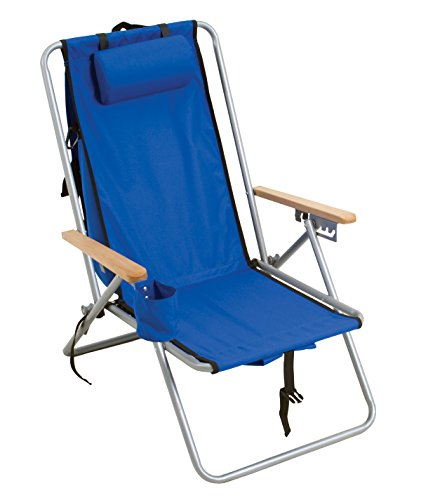 Rio Gear Original Steel Backpack Chair- Royal Blue