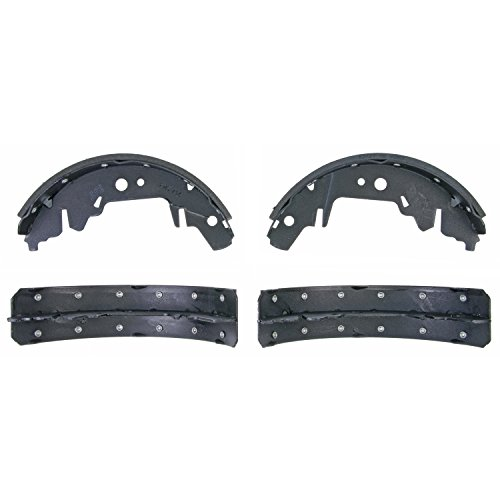 - Wagner Z714R Riveted Brake Shoe Set, Rear