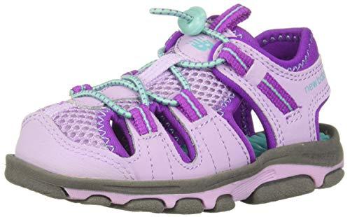 Price comparison product image New Balance Baby Kid's Adirondack Sandal Sport,  Grey / Purple,  I7 M US Toddler