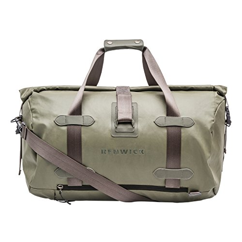 - Renwick Travel Roll Top Duffle with Backpack Straps & Laptop Sleeve (Green)